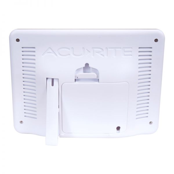 Back view of the 3-in-1 Weather Station Display - AcuRite Weather Monitoring Devices