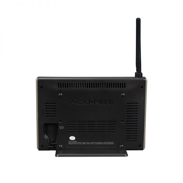 Back View of Display for High-Definition Pro+ 5-in-1 Weather Station with WiFi to Weather Underground – AcuRite Weather