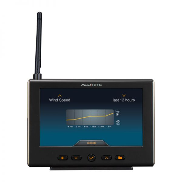 Additional Front View of Display for High-Definition Pro+ 5-in-1 Weather Station with WiFi to Weather Underground – AcuRite