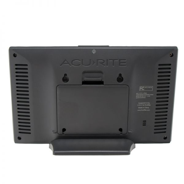 Back View of Digital Color Display for Pro+ 5-in-1 Weather Station – AcuRite Weather Instruments