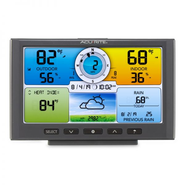 Color Display for 5-in-1 Sensor – AcuRite Weather Monitoring Instruments