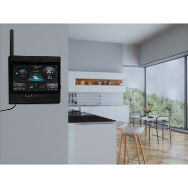 AcuRite Atlas Wi-Fi Display - Hanging on a wall