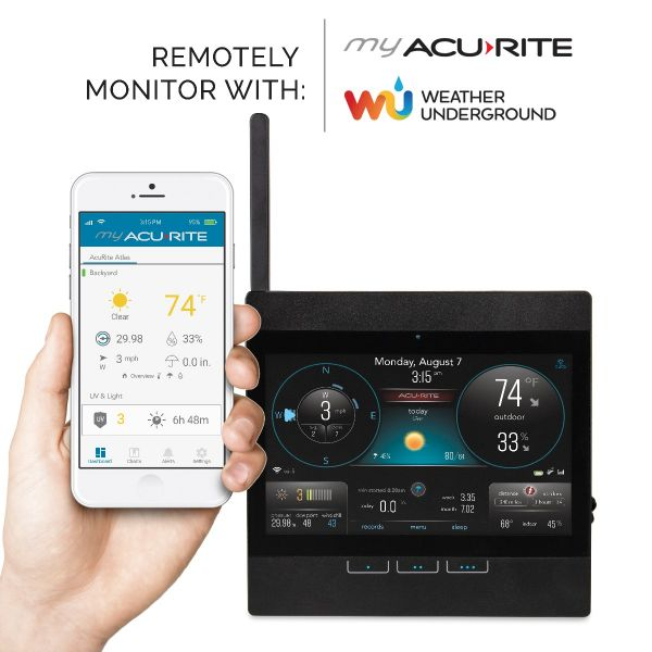 AcuRite Atlas Wi-Fi Display - Front view