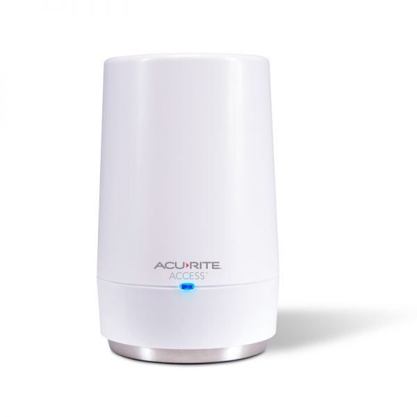 Close-Up of AcuRite Access Device with Power Light on – AcuRite Weather Technology