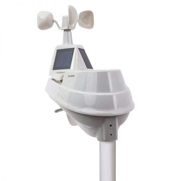 PRO+ Upgrade for the 5-in-1 Weather Sensor Shown on a Weather Station – AcuRite Weather Technology