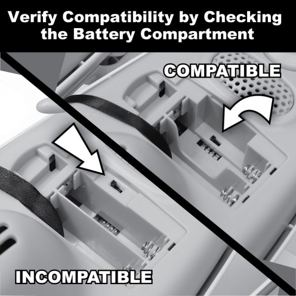 Graphic Showing How to Check Weather Sensor Compatibility By Checking Battery Compartment – AcuRite Weather Devices