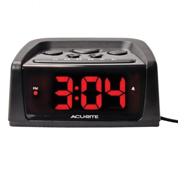 AcuRite Inteli-Time loud alarm clock