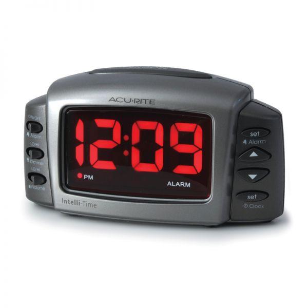 AcuRite Intelli-Time digital alarm clock