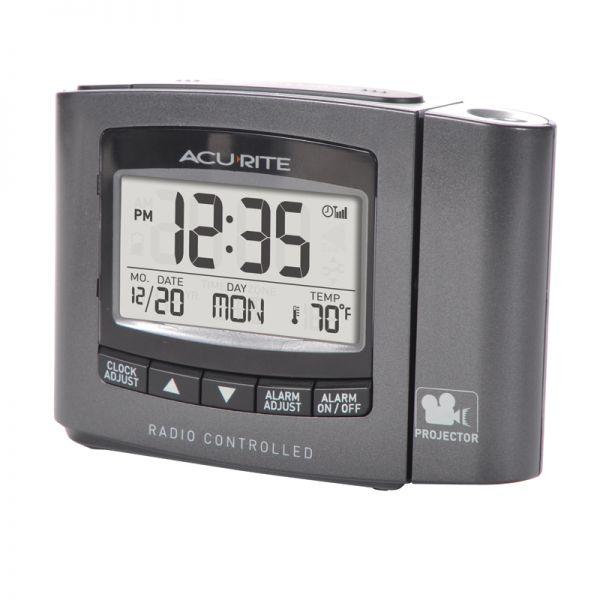 AcuRite atomic projection alarm clock