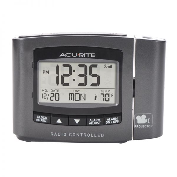AcuRite atomic projection alarm clock