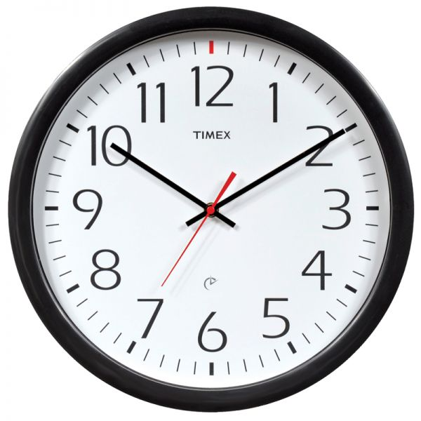 AcuRite Set & Forget Timex wall clock