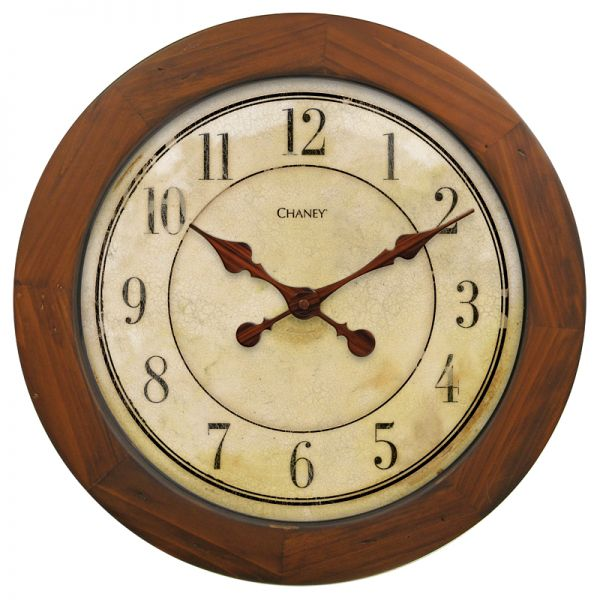 16-inch Wood Wall Clock - AcuRite Clocks