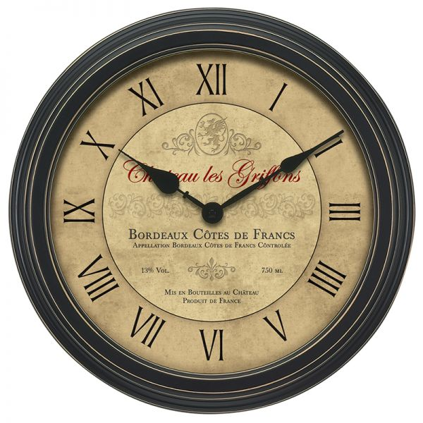 18-inch Bordeaux Wall Clock - AcuRite Clocks