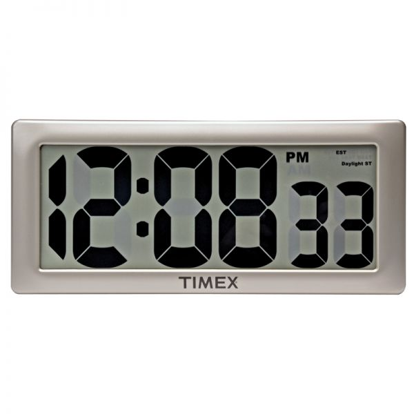13.5-inch Timex Intelli-Time Extra-Large Digital Clock - AcuRite Clocks