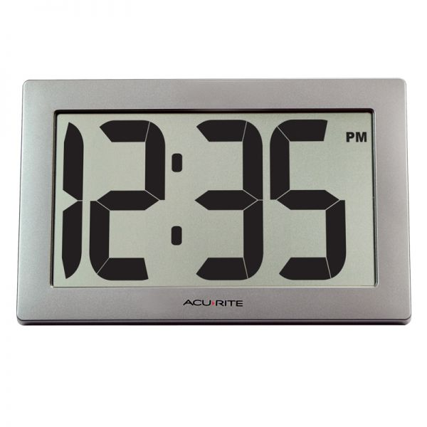 9.5-inch Large Digital Clock - AcuRite Clocks