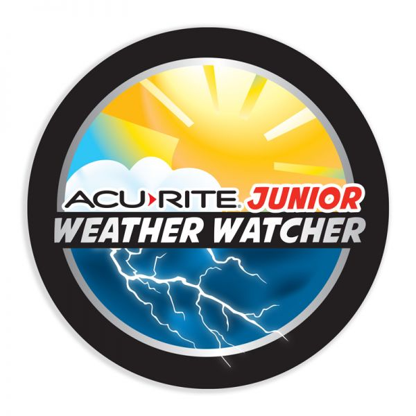 Jr. Weather Watcher Sticker - AcuRite Accessories