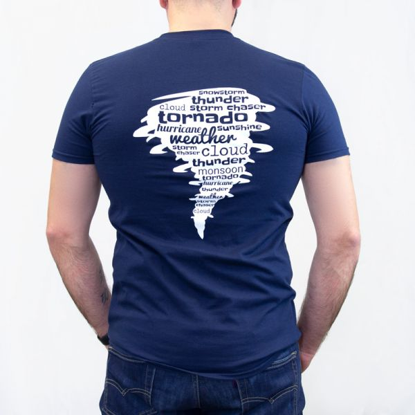 Back of the Severe Weather T-Shirt - AcuRite Accessories