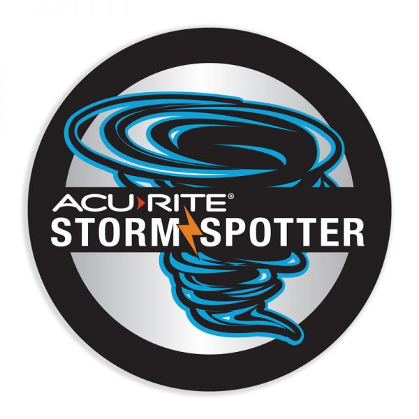 Storm Spotter Sticker- AcuRite Accessories