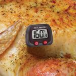 Instant Read Digital Meat Thermometer used with chicken - AcuRite Kitchen Gadgets