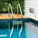 Outdoor Monitor with Liquid & Soil Temperature Sensor in a pool - AcuRite Weather Monitoring Devices