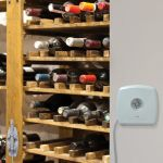 Room Monitor with Spot Check Temperature & Humidity Sensor in a humidor - AcuRite Home Monitoring Devices