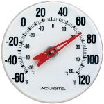 5-inch Thermometer with Bracket - AcuRite Thermometers