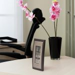 Digital Thermometer with Outdoor Temperature and Humidity on a Table – AcuRite Weather Monitoring Technology