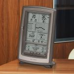 Display for 3-in-1 Weather Sensor on a table - AcuRite Weather Monitoring Devices
