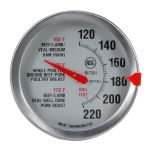 Oven-Safe Analog Meat Thermometer - Stainless Steel