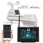 High-Definition PRO+ 5-in-1 Weather Station with Wi-Fi to Weather Underground