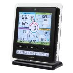 angled view of the Color Weather Station display - AcuRite Weather Monitoring Devices