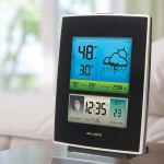 Color Weather Station Display on a table - AcuRite Weather Monitoring Devices