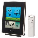 Angled view of the Color Weather Station - AcuRite Weather Monitoring Devices