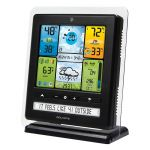 Angled View of the Color Display with PC Connect for 5-in-1 Weather Sensors - AcuRite Weather Monitoring Devices
