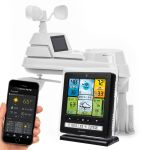 5-in-1 Color Weather Station with Weather Ticker and Future Forecast