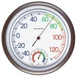 11.8-inch Thermometer with Humidity - AcuRite Thermometers
