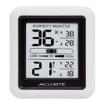 Indoor Temperature and Humidity Monitor - AcuRite Home Monitoring Devices