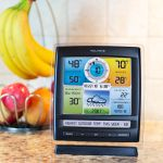 Pro+ 5-in-1 Weather Station with AcuRite Access for Remote Monitoring Placed on a Kitchen Counter – AcuRite Weather