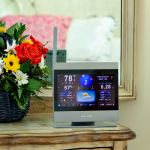 AcuRite Atlas High Definition Touchscreen Display on a Dresser – AcuRite Weather Monitoring Instruments