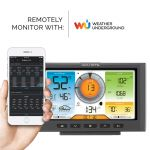 Wi-Fi Weather Station Display for 5-in-1 Sensor (Compatible with Weather Underground; Display Only)