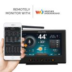 HD Display with Wi-Fi Forecast for 5-in-1 Weather Station (Compatible with Weather Underground; Display only)