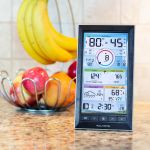 LCD Color Display for PRO+ 5-in-1 Weather Station on a Counter – AcuRite Weather Devices