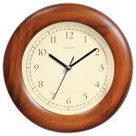 8-inch Poplar Wood Wall Clock
