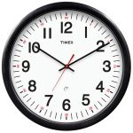 Timex 14.3-inch 5-Year Set & Forget Wall Clock