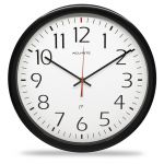 """14"""" Set and Forget Analog Wall Clock"""