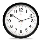 """14"""" Five-Year, Set and Forget Analog Wall Clock"""