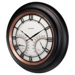 """24"""" Illuminated LED Large Outdoor Decorative Clock with Thermometer and Hygrometer Combo - AcuRite Clocks - View 4"""