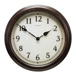 18-inch Large Antique Black Clock