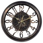 14-inch Open Frame Antiqued Wall Clock - AcuRite Clocks