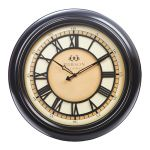 18-inch Pierson Wall Clock with Raised Dial